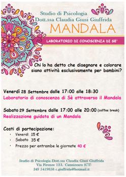 Laboratorio Mandala a Catania